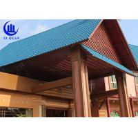 Buy cheap Lightweight  Spanish ASA Synthetic Resin Roof Tile Prefabricated Houses Excellent decay resistance from wholesalers