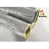 Buy cheap Round 4 Inch Flexible HVAC Duct Insulation Wrap Insulated Aluminum Small Bending Radius from wholesalers