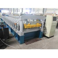 Buy cheap Ghana 1200MM Steel Structure Metal Roof Roll Forming Machine Mitsubishi PLC from wholesalers