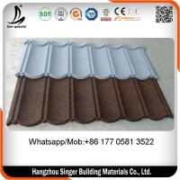 Buy cheap Color steel roof tiles , factory directly selling stone chips steel roofing tiles Philippines from wholesalers