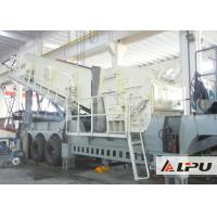 Buy cheap Economical Crawler Mobile Crusher / Mobile Crushing Plant For Limestone from wholesalers