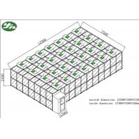 Buy cheap SUS304  Class 1000 Pharmacy Clean Room Modular Construction Convenient Movement from wholesalers