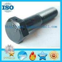 Buy cheap Bolt with hole, Bolt with Hole in Head ,Hex head bolts with holes,Hex bolts with holes,Zinc plated hex bolt grade 8.8 10 from wholesalers