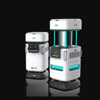 Buy cheap Lithium Battery 30Ah 250r/Min 200W Uv Disinfection Robot product