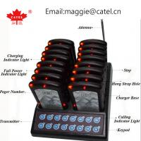 Buy cheap coaster pager / paging system for restaurant / calling system / waiter queue paging system from wholesalers