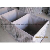 Buy cheap Low Carbon Steel Wire Filling Gabion Baskets , Military Barriers Hesco Bastion Wall from wholesalers