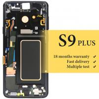 Buy cheap wholesale or Samsung S9 plus G965 lcd with frame good display OEM quality for mobile phone G965F screen replacement lcd from wholesalers