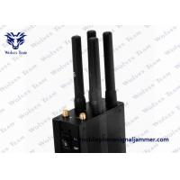 Buy cheap Selectable 6 Antennas GSM CDMA 3G 4G mini cell phone jammer from wholesalers