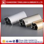 Buy cheap Aluminum wardrobe door frame for sliding closet wardrobe door design,aluminum profile for wardrobe door from wholesalers