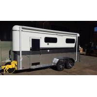 Buy cheap (Square Roof)2 Horse Straight Load Camping Horse Float from wholesalers