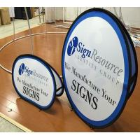 Buy cheap A Frame Banner Stand Double Side Banner Frame Display Pop Ups S,M,L Sizes from wholesalers