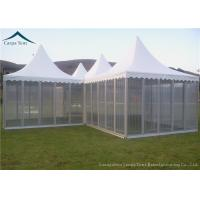 Buy cheap Pagoda Shape Small Marquee Tents / Wedding Party Tents With Luxury Decoration from wholesalers