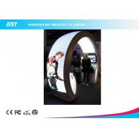 Buy cheap Animation Show P5 Flexible Led Curtain Display / Led Curved Screen , High Definition from wholesalers