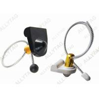 Buy cheap Stainless Steel Cable Lanyard Bottle Security Tags / AM 58Khz Wine Anti Theft Hard Tag from wholesalers