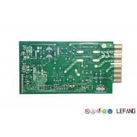 Buy cheap Green Solder Printed Circuit Board PCB 4 Layers 1.6mm Thickness For Communication product