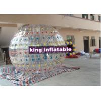Buy cheap Customized Amusement Inflatable Zorb Ball / Colour Ball Zorb With  For Festival Playing from wholesalers