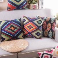 Buy cheap Vector graphic series cushion,color mix designs print cushion,handmade sofa decor cushion from wholesalers