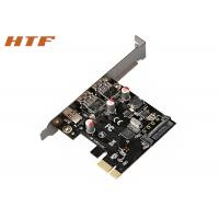 Buy cheap SuperSpeed USB3.0 Type A port + Type C 6 Gbps PCI Express Network Card Riser Card from wholesalers