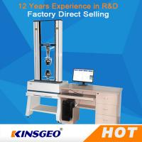 Buy cheap 100KN Rubber Tensile Testing Machine High Precise For Peel / Bend Strength from wholesalers