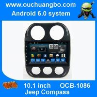 Buy cheap Ouchuangbo car radio dvd for Jeep Compass with android 6.0 gps navigation bluetooth USB from wholesalers