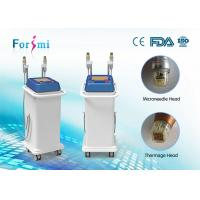 Buy cheap vertical spa use invasive + non-invasive best rf skin tightening face lifting machine 2 handles from wholesalers