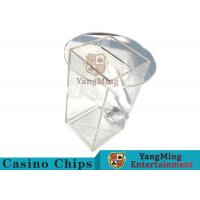 Buy cheap Acrylic HD Transparency Poker Card Holder, Anti - Fade Dealers Card Holder from wholesalers
