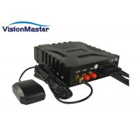 Buy cheap High Reliability 4 Channel Mobile HD DVR 3G Wifi GPS Durable With SD Cards product