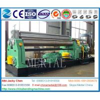 Buy cheap MCLW11-20*2500 Mechanical three roller plate bending/rolling machine export Indonesia from wholesalers