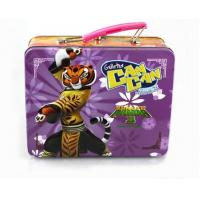 Buy cheap Wholesale Custom Kung Fu Panda 3 Lunch Tin Box from wholesalers
