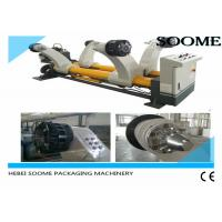 Buy cheap Heavy Type Shaftless Hydraulic Mill Roll Stand , Reel Stand Paper Roll Holder 2000 Model from wholesalers
