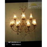 Buy cheap Hotel Water Drop Pendant Chandelier Pendant Lights E27 Whtie Lace Lampshape from wholesalers
