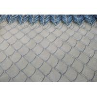 Buy cheap Woven Chain Link Fencing PVC Coated Iron Wire Mesh , 18#-7# Wire Dia from wholesalers