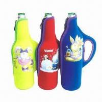 Buy cheap Promotional gift custom neoprene bottle coolers, customized styles/logos are accepted product
