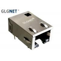 Buy cheap Integrated Transformer Magnetic Ethernet Connector 1 X 1 Port Latch Down 1000 Base - T from wholesalers