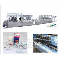 Buy cheap DHC250P Ampoule Blister packing Cartoning packaging Line from wholesalers