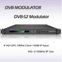 Buy cheap RMSS9010 DVB-S2 Modulator Support BISS scrambling(BISS-0, BISS-1,BISS-E) 24V/4A coupling power 10MHz Clock from wholesalers