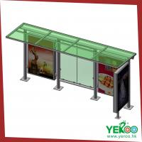 Buy cheap single side furniture outdoor advertising stand bus shelter from wholesalers