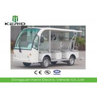 Buy cheap Battery Operated Electric Sightseeing Car With 11 Seats Low Noise Long Service Life product