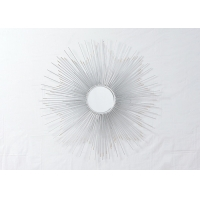 Buy cheap Sunburst Metal Frame Decorative Mirror Glass Wall Art Made In China from wholesalers