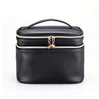Buy cheap Mirror PU Leather Wash Cylinder Bucket Makeup Bag from wholesalers