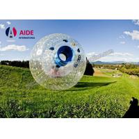 Buy cheap 2M Dia Amusement Park Big Inflatable Ball , Rolled Grass Inflatable Bumper Ball For Kids from wholesalers