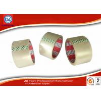Buy cheap 48mm Width Pressure Sensitive BOPP Packaging Tape Transparent from wholesalers