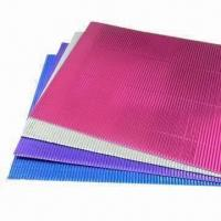 Buy cheap Metallic Corrugated Papers for Gift Wapping, School Activities and Handcrafts from wholesalers