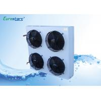 Buy cheap Copper / Aluminum Chiller Heat Exchanger With 4 Fans Side Air Discharge from wholesalers