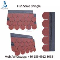 Buy cheap Hangzhou Roofing Materials Fish Scale Asphalt Roof Bitumen Shingles from wholesalers