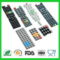 Buy cheap Waterproof Printing TV Remote Control Conductive Silicone Rubber Keypads from wholesalers