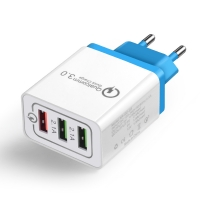 Buy cheap 3 USB Output ROHS CCC 4.8A Universal USB Charger from wholesalers