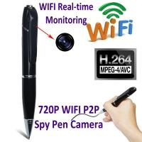 Buy cheap 720P HD WIFI P2P Pen Spy Hidden Camera Covert Video Streaming Recorder Home product