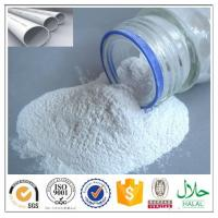 Buy cheap Top quality pipe grade PVC resin (polyvinyl chloride) white powder SG5, K67 with favourable price from wholesalers
