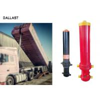 Buy cheap 3 Stage Single Acting Telescopic Cylinder , Hydraulic Lift Cylinder For Dump Truck from wholesalers